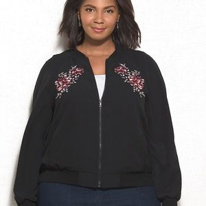 Dress barn bomber jacket